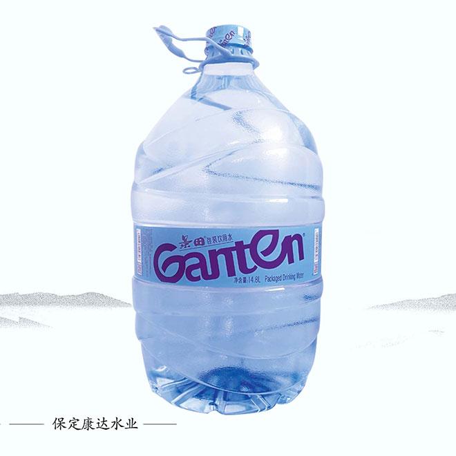景田一次性桶装水14.8L/桶